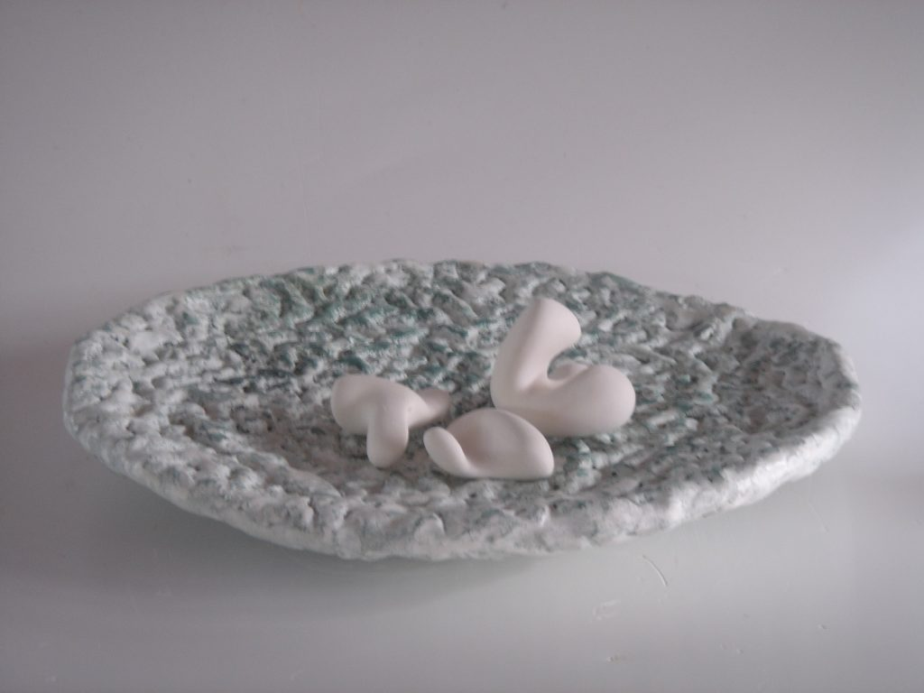 koraalbord 30 x 30 x 5 cm 2006