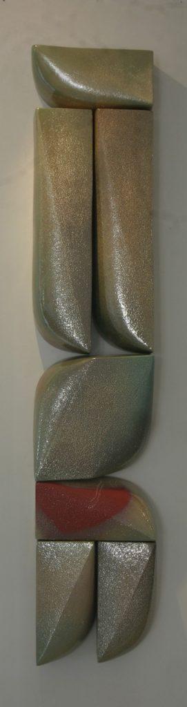 Bara di Oro_2011_39x14x185 cm_glazed stoneware