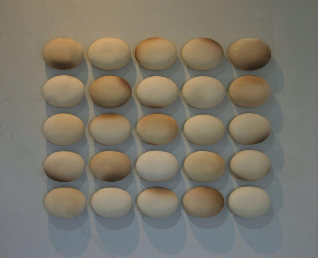 Composition without dissonance 2010 - 97x5x83 cm  - stoneware