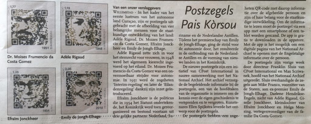 Antilliaans Dagblad 12-10-15