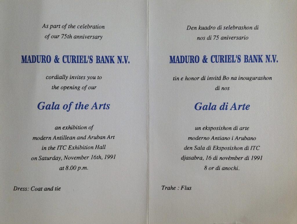 1991 Gala di Arte