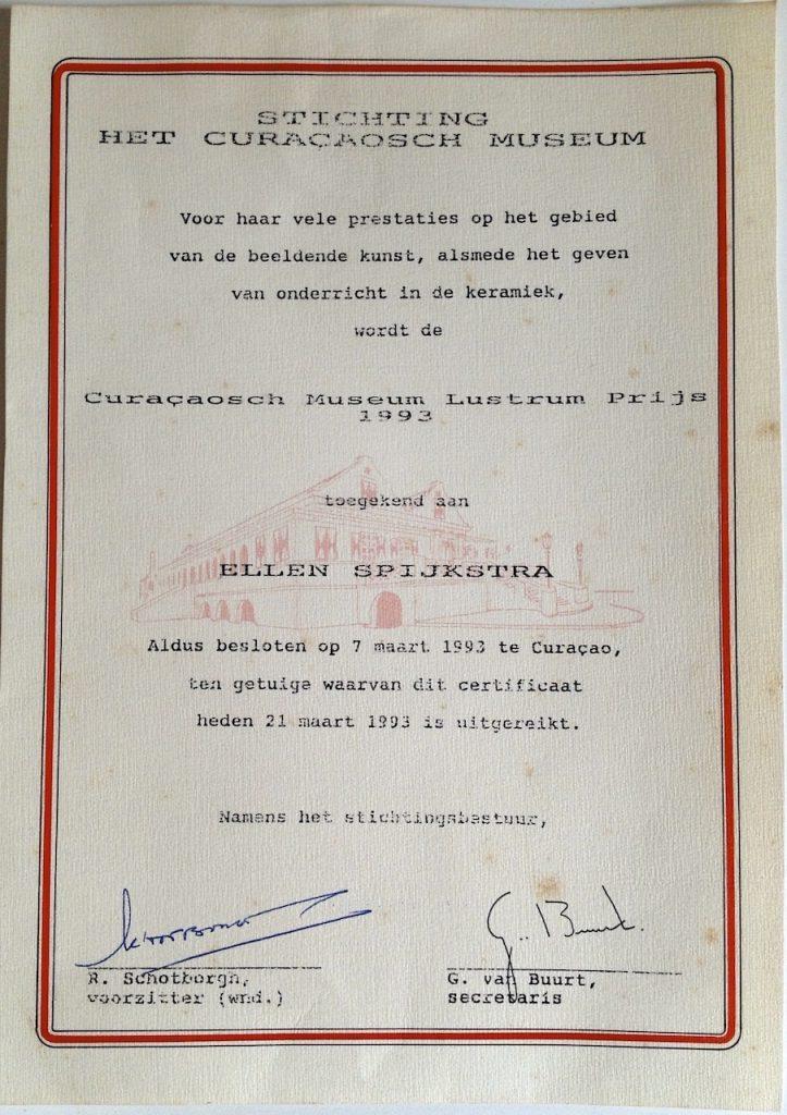 1993 Museumprijs