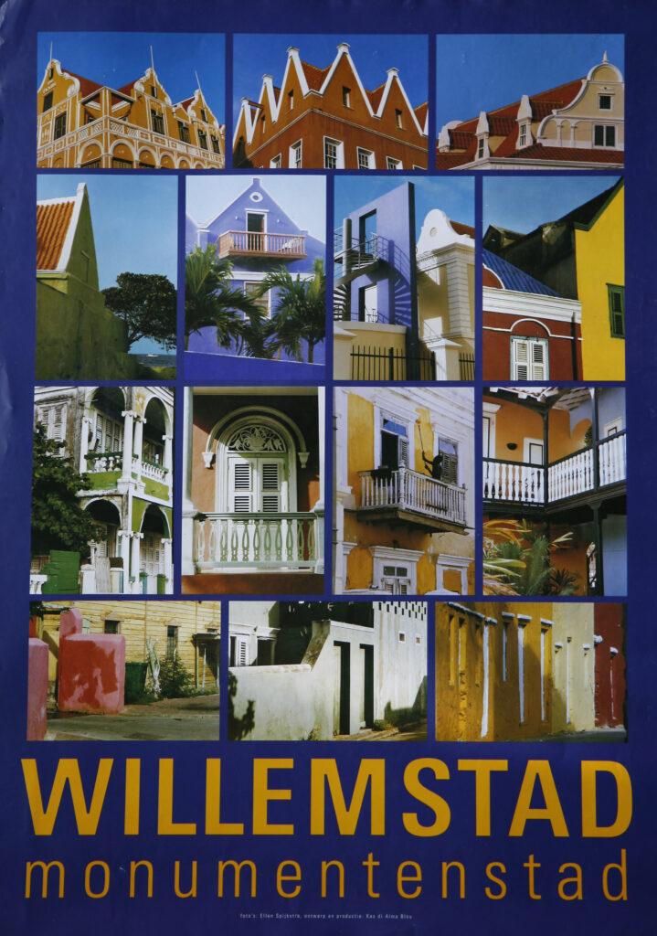 Poster Willemstad Monumentenstad, 1999
